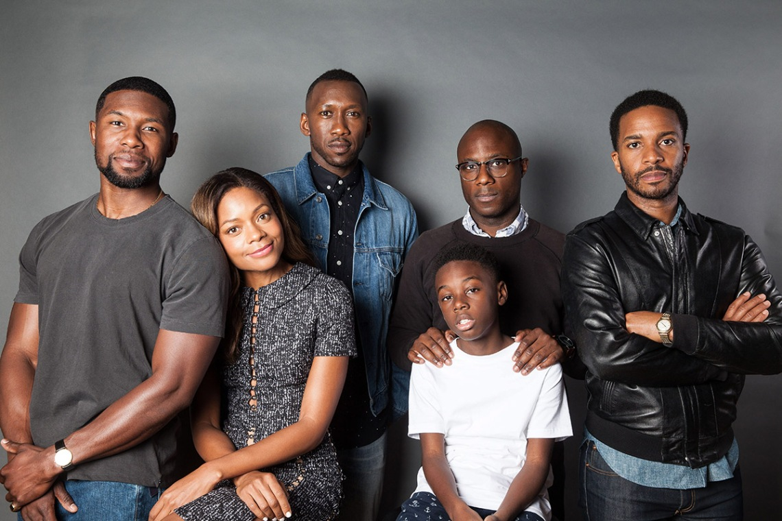 Cast and director of Moonlight